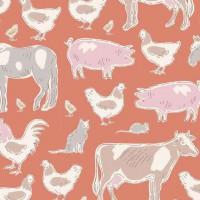Tilda 'Tiny Farm' dieren oranje