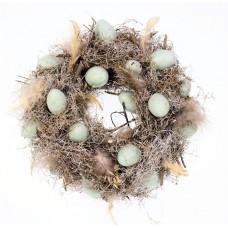 Krans met eitjes