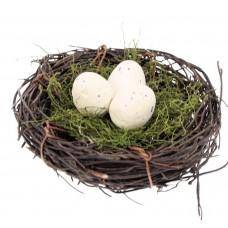 Nestje met eitjes