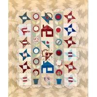Friends & Flowers *PAKKET* + Border en Bogen Quilt it & Dotty