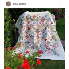 Patroon Sterretjes met kleur van #Anna_Jantina