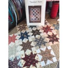 Patroon Dee Dee's Stars poppenquiltje