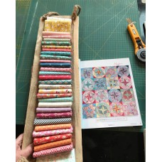 Pakket  Mayfair uit boek 'Quilts for life 2' van Judy Newman