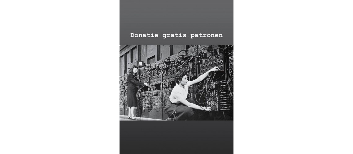 Gratis patronen donatie