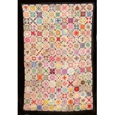 Jaren '30 sampler: de kabouterblokjes quilt