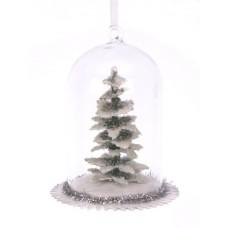 Ornament kerstboom in stolp