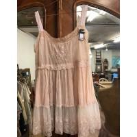 JDL clothing hemdje met kant roze