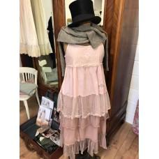 JDL clothing kanten hemdje roze