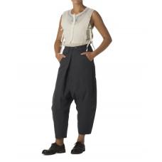 Ewa i Walla zwarte pantalon laag kruis