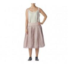Ewa i Walla  roze rok met ruiten en schouderbanden