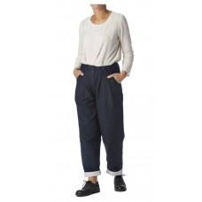Ewa i Walla Donkerblauwe katoenen pantalon