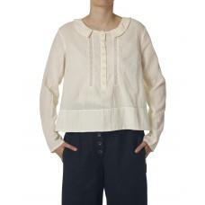 Ewa i Walla  blouse katoen ecru