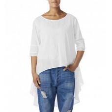 Ewa i Walla  blouse voile met kant