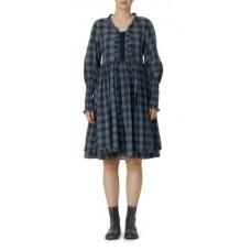 Ewa i Walla blauwe geruite jurk uitverkocht!