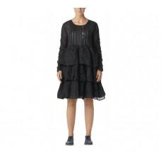 Ewa i Walla  Organza jurk zwart