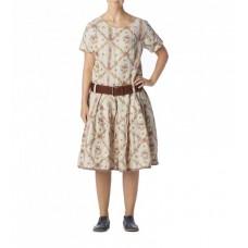 Ewa i Walla linnen jurk print