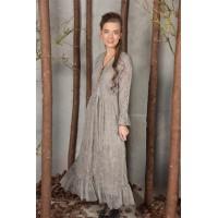 JDL clothing kanten jurk grijs