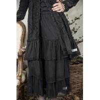 JDL clothing tulle rok zwart