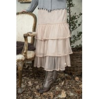 JDL clothing tulle rok dusty rose