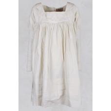 Ecru jurk/tuniek kanten mouw