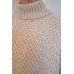 Les Ours mouwloze trui in ponchostijl