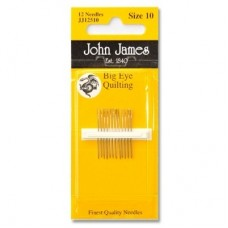 John James Big Eye Quilting needles
