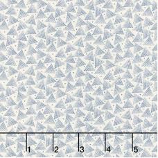 Moda, Primitive Gatherings, Indigo Gatherings creme blauw driehoek