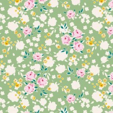 Tilda 'Apple Butter' Groen bloemetje