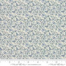 Moda, French General, Le Beau Papillon, grijsblauw klein bloemetje
