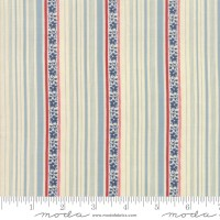 Moda, Minick and Simpson, Northport Prints, blauwe streep