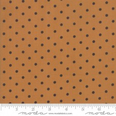 Bunny Hill Design ' 101 Maple Street' oker met grijze polka dot