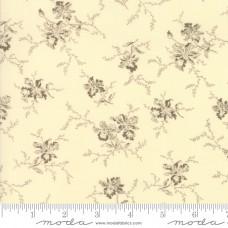 Betsy Chutchian ' Nancy's Needle'  creme bruine bloemen