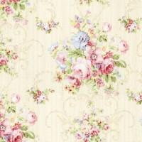 Lecien, Rococo & Sweet creme groot bloem motief