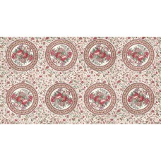 Moda, Regency Romance by Christopher Wilson Tate creme cirkel panels