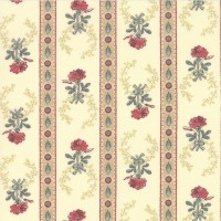 Moda, Regency Romance by Christopher Wilson Tate creme border motief