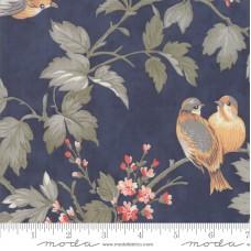 Moda, 3 Sisters ' Daybreak' blauw vogels en takken