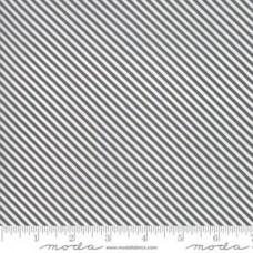 Moda 'Bloomington' grijs diagonale streep
