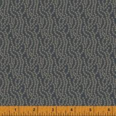 Windham, Country Soiree grijsblauw met stippen confetti