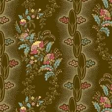 Di Ford 'Chesapeake'  bruin met bloemen