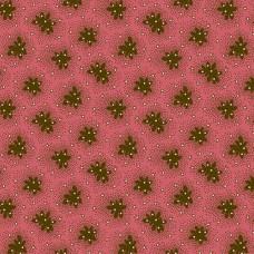 Di Ford 'Chesapeake'  Donkerroze met bruine bloemen