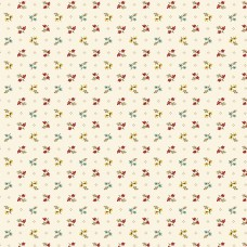 Max and Louise pattern co, Nana's Flower Garden, creme multi bloemetjes
