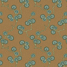 Di Ford 'Anne's English Scrapbox' bruin bloemen