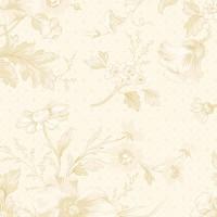Edyta Sitar ' Perfect Union' Creme en beige bloemen