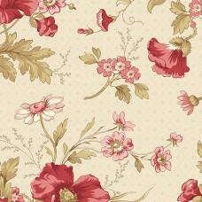 Edyta Sitar ' Sweet 16' Creme bloemen