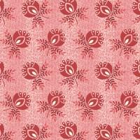 Edyta Sitar ' Sweet 16' Roze met rode bloemen met takjes