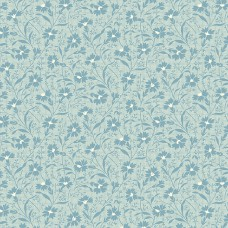 Edyta Sitar ' Perfect Union' lichtblauw bloementakjes