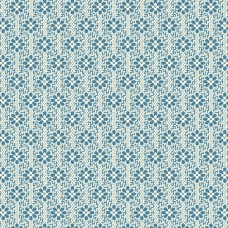 Edyta Sitar ' Perfect Union' blauwe bloemenrijtjes