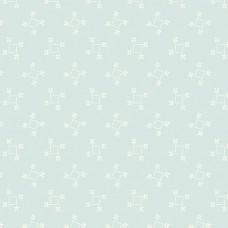Edyta Sitar ' Perfect Union' lichtblauw vierkantjes