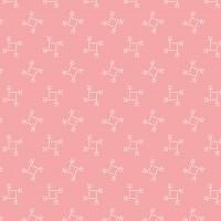Edyta Sitar ' Sweet 16' Roze vierkantjes