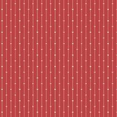 Edyta Sitar ' Sweet 16' Rood strepen roze beige